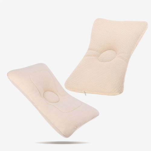 SUNVENO Baby Protective Pillow High Polymer Baby Head Shaping Pillow Flat Head Baby Pillow by Sunveno
