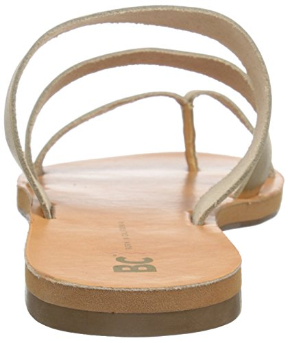 Slide Mujer Peanut Dorado Bc Sandal Calzado wxat4g