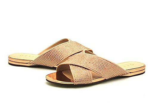 con Cross KUKI 1 Roman Comfort Flat Grezzo Flats Ladies wERqRI4v