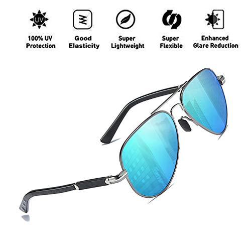 Polarized UV400 de para Retro Classic ATNKE Ultra sol C4 Aviator Light Mujeres Hombres Protección Gafas Driving Style gxEBCPq