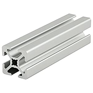"80/20 Inc., 1010-S, 10 Series, 1"" x 1"" Smooth T-Slotted Extrusion x 96.5"" from 80/20 Inc."