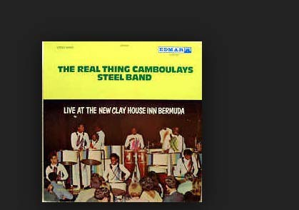 Bermuda New - Real Thing Camboulays,Live At The New Clay House Inn, Bermuda/Sponsored By Bottlers of Coca Cola AUTOGRAPHED LP