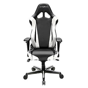 Amazon.com: DXRacer OH/rv001/NW Racing Series Blanco y Negro ...