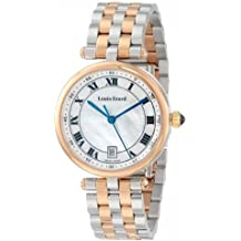 """Louis Erard Women's 11810AB04.BMA27 """"Romance"""" Stainless Steel and Gold-Plated Bracelet Watch"""