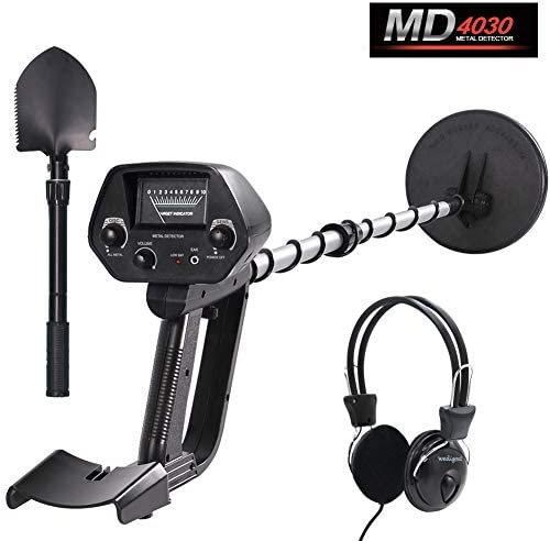 Wedigout Metal Detector MD-4030 Pro Edition Hobby Explorer Waterproof Search Coil with Shovel