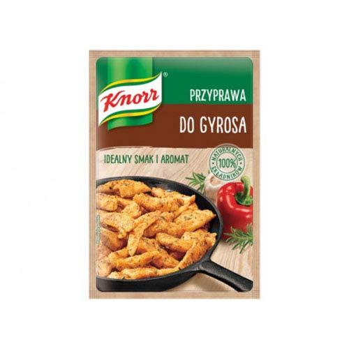 Knorr Przyprawa do Gyrosa Gyro Seasoning 23g Bag (3-Pack)