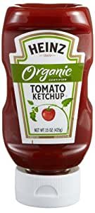 Heinz Organic Tomato Ketchup, 15 Ounce (Pack of 12)