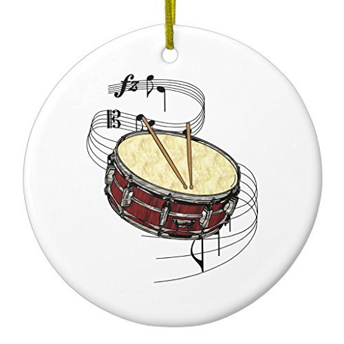 Snare Drum Ornament CircleDesigned by Valentine Herty