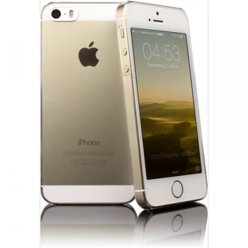 CASEual CLEAIP5S Polycarbonat Schutzhülle für Apple iPhone 5/5S transparent