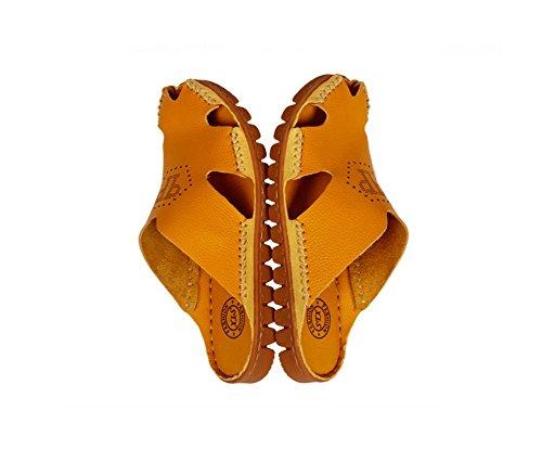 Élégant Bininbox Cuir Plage Dété En De Classique Chaussures Hommes 7ddTqU6
