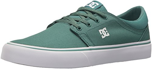 DC Men's Trase TX Skate Shoe, Grass, 8 D US