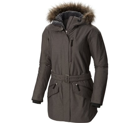 Columbia Belted Belt (Columbia Women's Carson Pass II Jacket, Mineshaft,)
