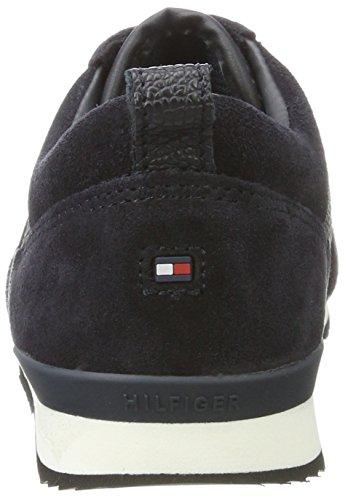 Midnight Bleu M3285axwell Sneakers Jr 11c1 Hilfiger Garçon Basses Tommy 8v5605