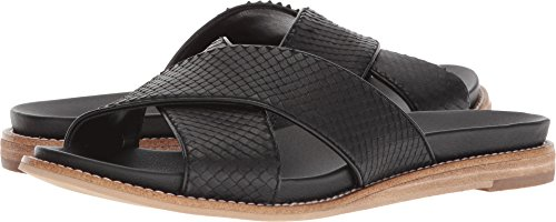 Dr. Scholl's Women's Deco - Original Collection Black Snake Print Leather 8.5 M (Black Snake Print Leather)