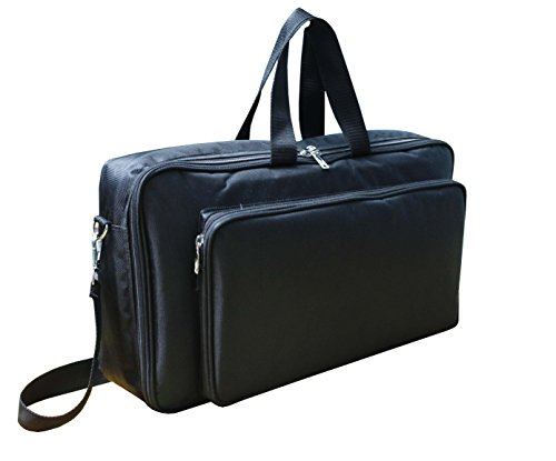 Baritone Case For Allen & Heath ZED-14 Mixer Heavy Padded Gig Bag Size (17X20X6) Inch (Mixer Zed Heath 14)