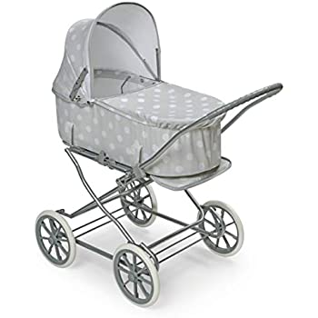 Amazon.com: TODAYTOP Childrens Toy Cart Doll Outdoor Baby Buggy ...