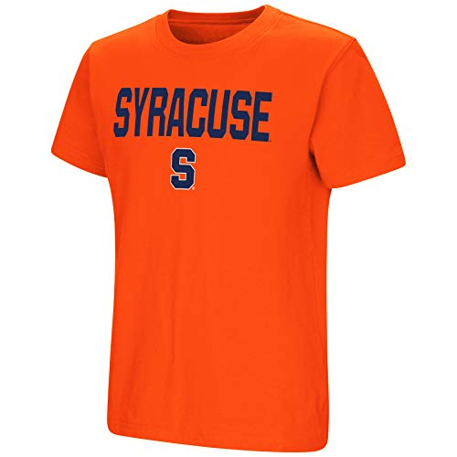T-shirt University Syracuse - Colosseum NCAA Youth Boys-Talk The Talk-Cotton T-Shirt-Syracuse Orange-Orange-Youth Medium