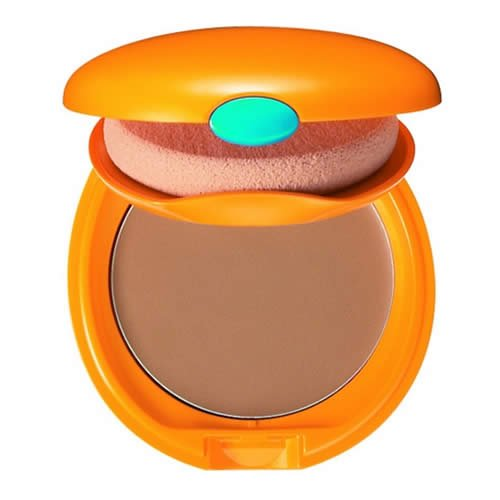 Shiseido Tanning Compact Foundation for Women SPF 60, Bronze, 6.7 Ounce Brilliant Bronze Self Tanning