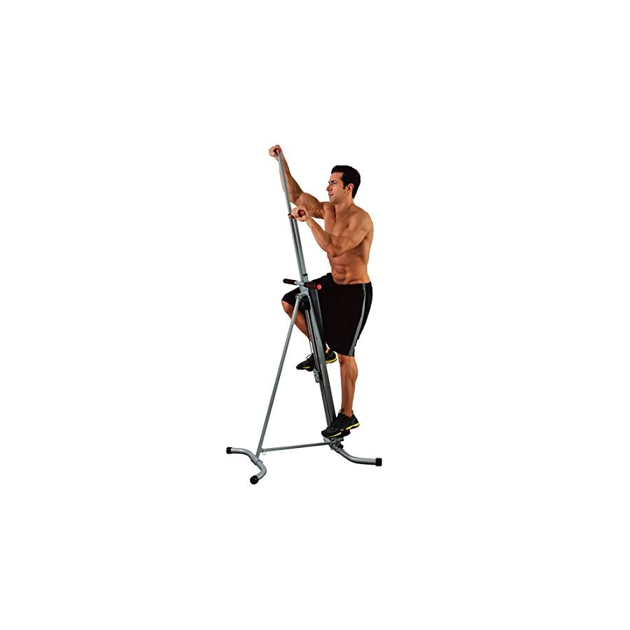 MaxiClimber(r) The Original Patented Vertical Climber, As Seen On TV Full Body Workout with Bonus Fitness App for…