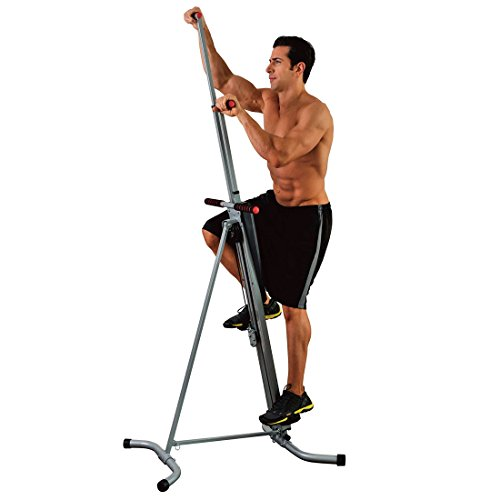 "MaxiClimber The original patented Vertical Climber, ""As Seen On TV"" Full Body Workout with BONUS Fitness App for Apple and Android"