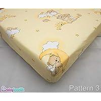 Baby Comfort Sábanas de algodón para cunas, 90x