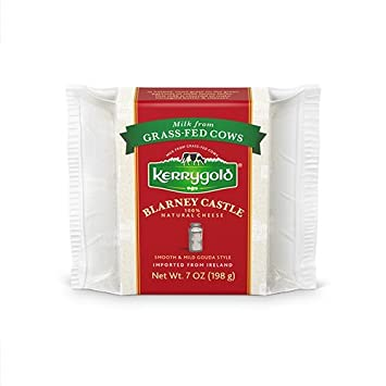 Kerrygold Blarney Castle Cheese , 7 Ounce All-Natural Gouda-Style Cheese  Made with Milk from