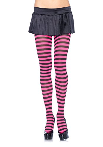 Leg Avenue Womens Nylon Striped