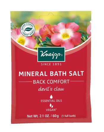 (Kneipp Mineral Bath Salt, Back Comfort, Devil's Claw, 2.1 oz. )