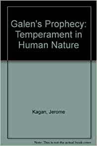 Galen S Prophecy Temperament In Human Nature