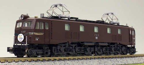 [해외] KATO N게이지 EF58 150 미야노하루 운전소 3049-1 철도 모형 전기 기관차