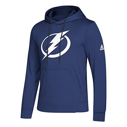 adidas Tampa Bay Lightning Hoodie NHL Fleece Pullover Hood (XXX-Large) ()