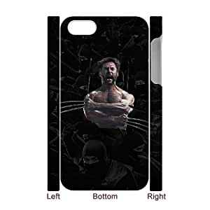 ANCASE Diy hard Case Wolverine customized 3D case For Iphone 4/4s