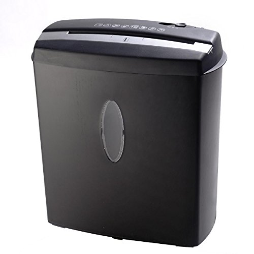 10 Sheet Cross-Cut Paper/Credit Card/Staples Shredder w/ Basket Home Office