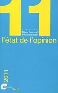 L'état de l'opinion par Olivier Duhamel