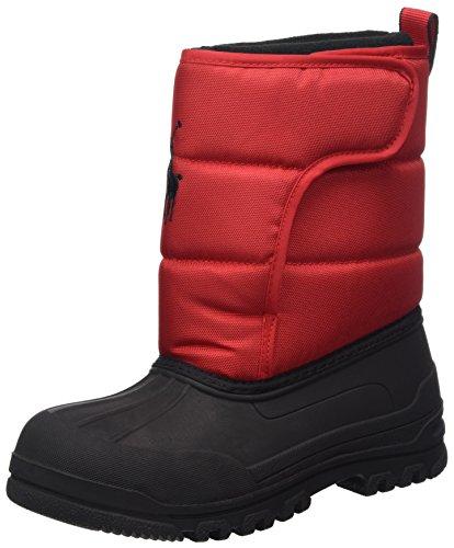 Polo Ralph Lauren Kids 993533 Snow Boot, Red, 3 M Us Little Kid