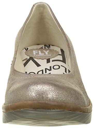 Fly London Damen Pompt Goud (luna / Kameel)