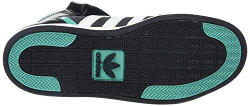 adidas Varial Mid, Zapatillas de Skateboarding Unisex Adulto Negro (Negbas / Ftwbla / Menimp)