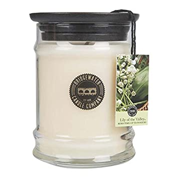 amazon bridgewater candle 8オンスsmall jar lily of the valley