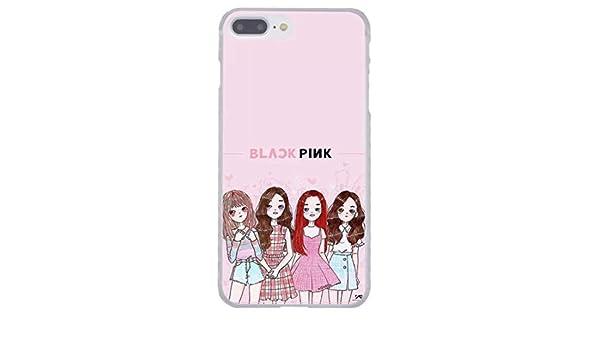 Amazon Com Llm 6 Blackpink Black Pink Cartoon Kpop Girl Band Korean