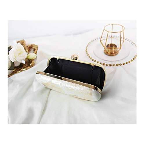 De OYY Sac Pochette Petit Sac Banquet Téléphone De d'honneur Argent Slung Femelle Demoiselle Couleur Sac Main À Manufacture Blanc Blanc Sac Robe Lady Mobile Green Fan Sac Dîner Perle Sac zqaznr