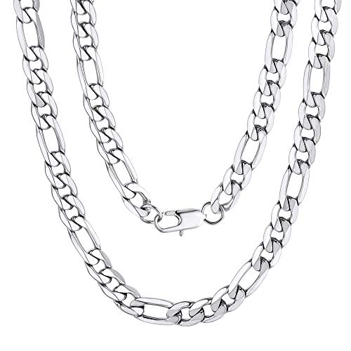 Figaro 316L Necklace 9MM 26