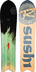 The 2019 Rossignol XV Sushi LF Snowboard, made for those devoted soul surfers looking to slash the back bowls and rip through the trees. Constructed with Rossignol's AmpTek Elite Rocker which offers camber in between the feet and a stiffer ro...