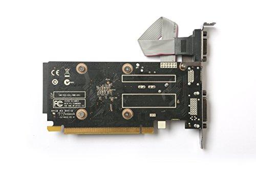ZOTAC GeForce GT 710 2GB DDR3 PCI-E2.0 DL-DVI VGA HDMI Passive Cooled Single Slot Low Profile Graphics Card (ZT-71302-20L) by ZOTAC (Image #7)
