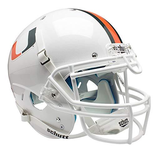 NCAA Miami Hurricanes Authentic XP Football Helmet