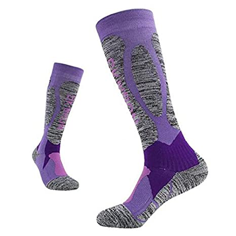 KathShop New Winter Thermal Ski Socks Cotton Spandex Sport Snowboard Long Socks Wearable Thermosocks calcetines de