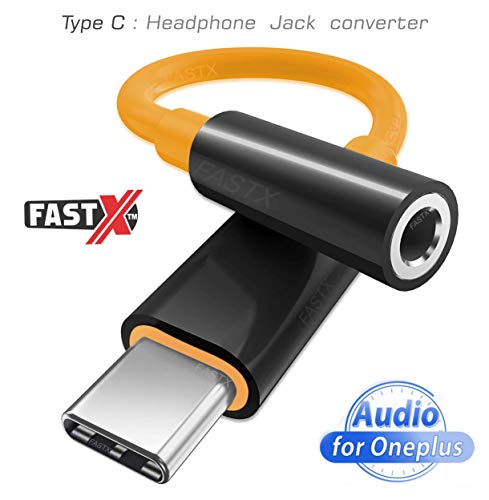 FASTX™ Trending Mclaren Edition Type C to 3.5 mm Jack Audio Connector, Noise Cancelling Headphones Jack Converter Audio
