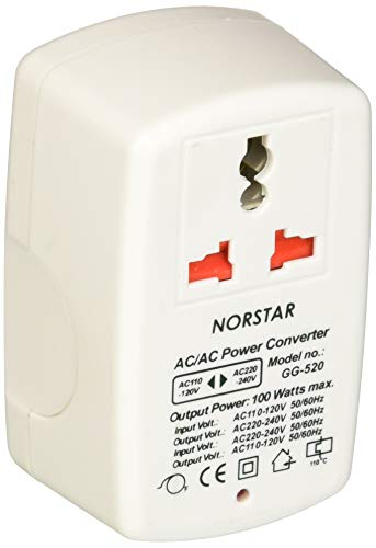 (Norstar 100 Watt Step Up and Down Two Way Universal Travel Voltage Transformer Converter)