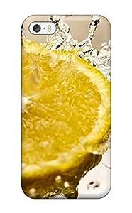 Hot Style GAIjUKN7502wDVbP Protective Case Cover For Iphone5/5s(lemon Splash)