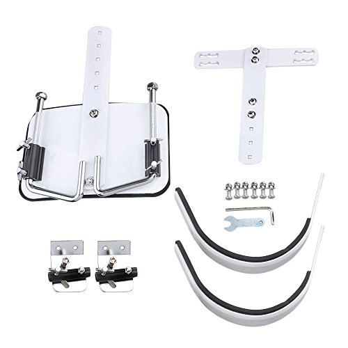 (lovermusic White Percussion Parts Marching Snare Drum Carrier Shoulder Harness)