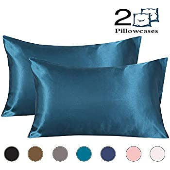 Amazon Com Coverify Satin Pillowcase Super Soft Silky